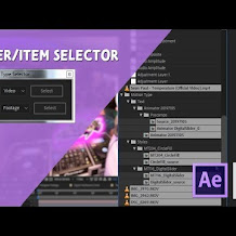 Cara Membuat Layer Atau Item Type Selector Di After Effects Menggunakan Exptenscript
