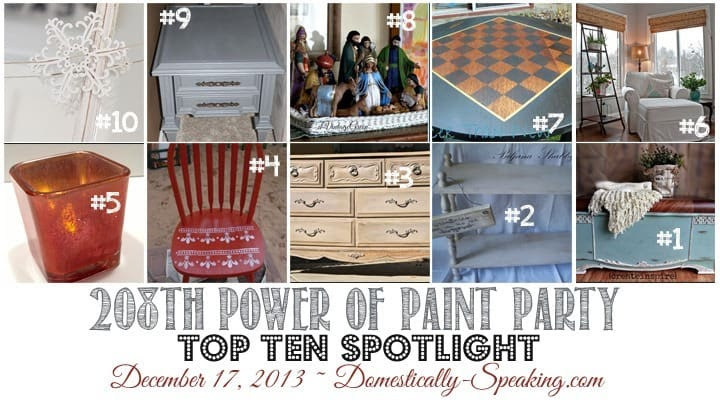 Power of Paint Linky Party
