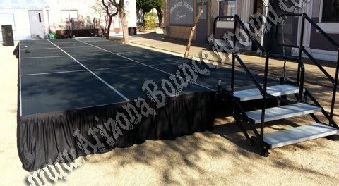 Stage Rental, staging rental, Portable Stage Phoenix - Rent a Stage Scottsdale AZ