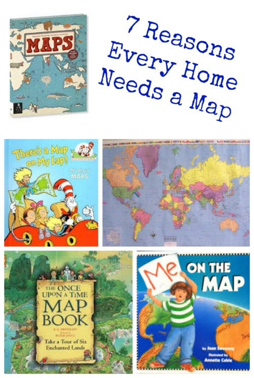 Fun ways to use maps at home