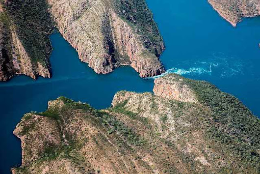 Horizontal Waterfalls in Talbot Bay Australia