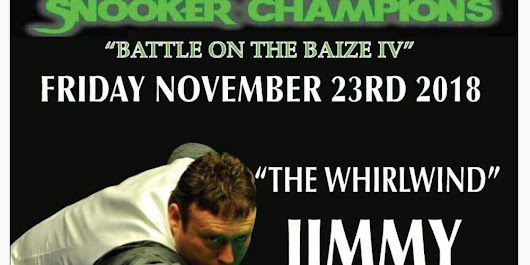 SNOOKER CHAMPIONS 'Battle on the Baize IV'