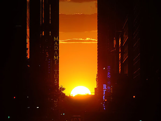'Manhattanhenge' Is Thursday: Here's How to See It