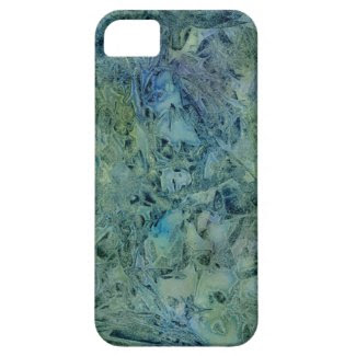 Thunder Dream Bluegreen Abstract