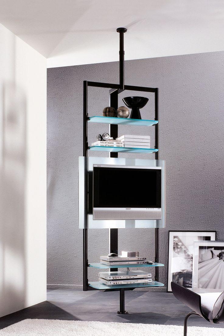 Porada Ubiqua Wall And Floor Mounted Tv Unit Arredamento Interior Design Per Appartamenti