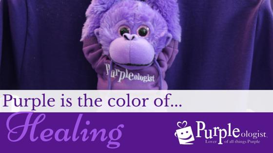 Purple Is The Color Of Healing Purpleologist