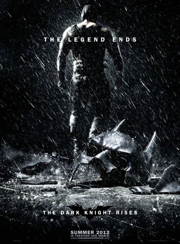 THE DARK KNIGHT RISES teaser poster.