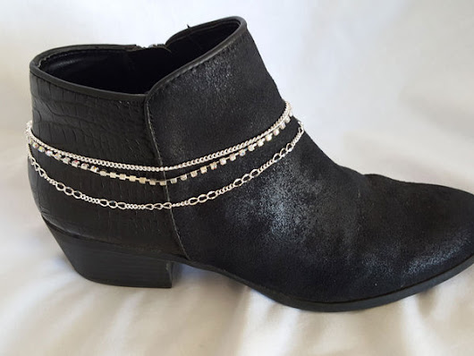 Triple Strand Silver Boot Bling – Arzinger Jewelry