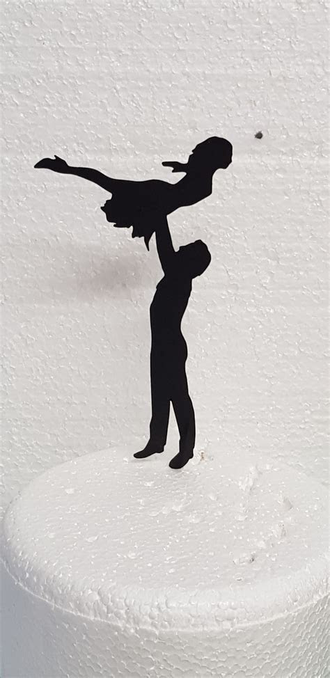 Dirty Dancing The Lift cake card topper