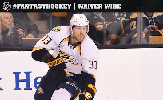 Fantasy Hockey All-Access: Colin Wilson of Nashville Predators emerges as a commodity