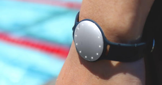 The Misfit Speedo Shine is a fitness tracker that's perfectly at home in or out of the water