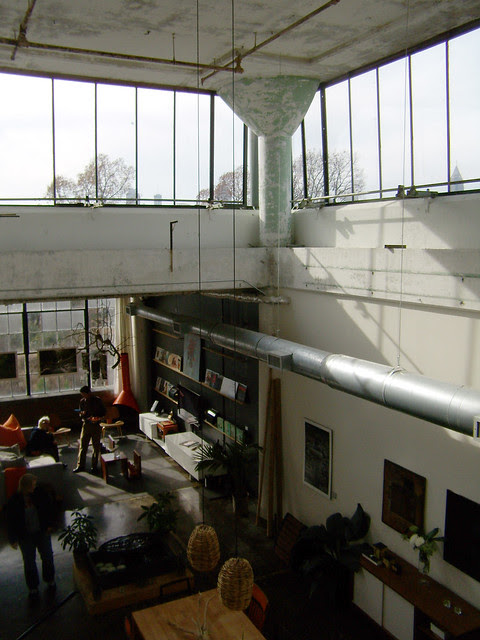 PC062180-2009-12-06-Telephone-Factory-3rdFloor-Corner-Loft--Window-Column-View-From-Loft
