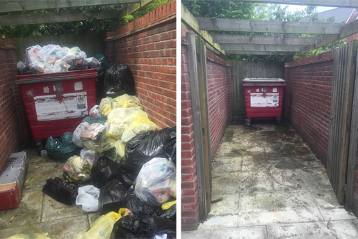 Commercial Rubbish Removal - The Rubbish Removers