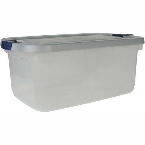 Google Express Rubbermaid Roughneck Storage Container Clear 50 qt