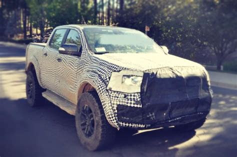 ford ranger raptor spy  review   truck