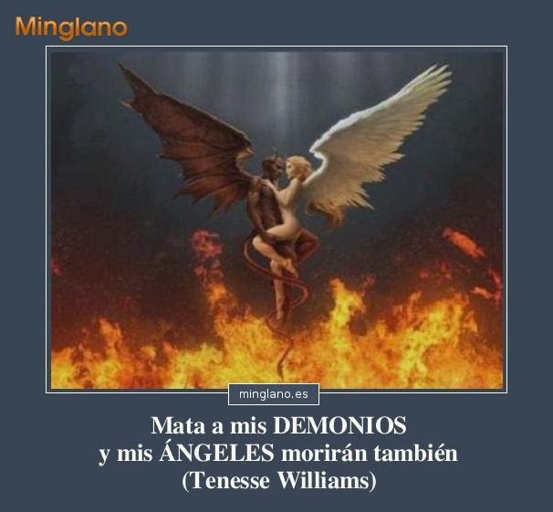 Frases Sobre Angeles Y Demonios