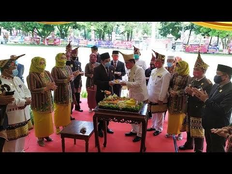 Sederhana Tetapi Meriah, Peringatan HUT Ke-29 Kabupaten Lampung Barat Tahun 2020