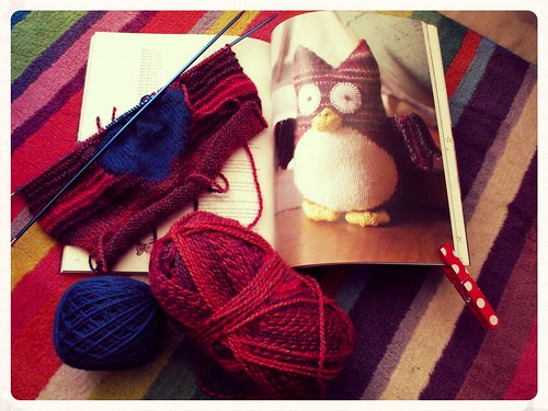 The owl & the pussy cat knits