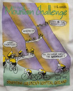 Diablo Challenge shirt 11th annual 1992