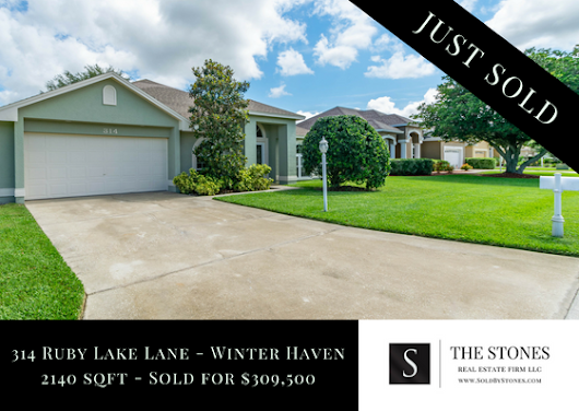 JUST SOLD: 314 Ruby Lake Lane - Winter Haven Florida - The Stones Real Estate Firm