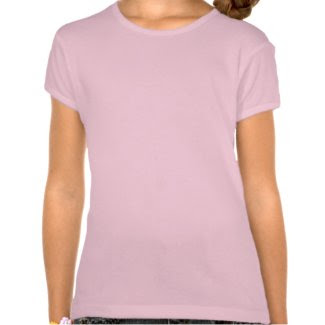 Girls Tee Pink Butterfly shirt