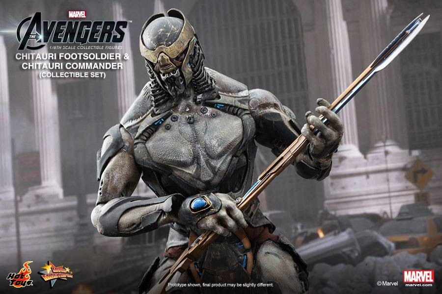 Chitauri Footsoldier and Chitauri Commander 4