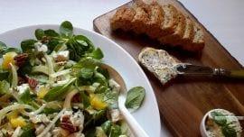 venkelsalade met gorgonzola