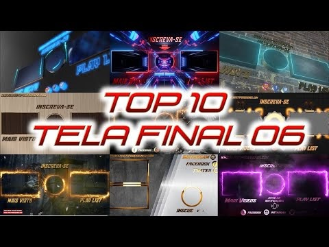 Top 10 Tela Final #06 templant Final Logo Tipo Designer Download Grátis