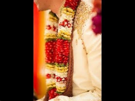Latest wedding malai design   YouTube
