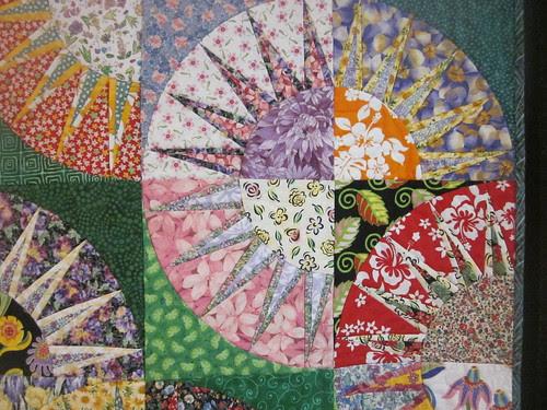 """Sheila's Garden"" by Tina Curran, close up"