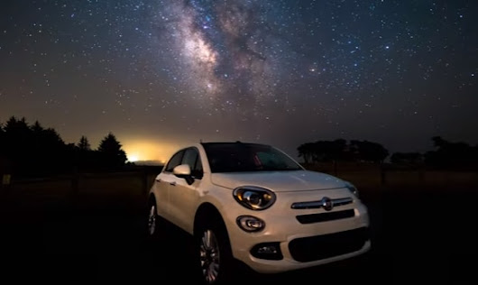 Cool Time-Lapse Video Is Perfect for Fiat-Driving Adventurers