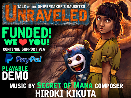 Unraveled: Tale of the Shipbreaker's Daughter by RosePortal Games — Kickstarter