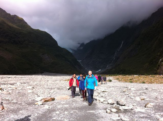 New Zealand: Franz Josef and Fox Glaciers - Routes and Trips