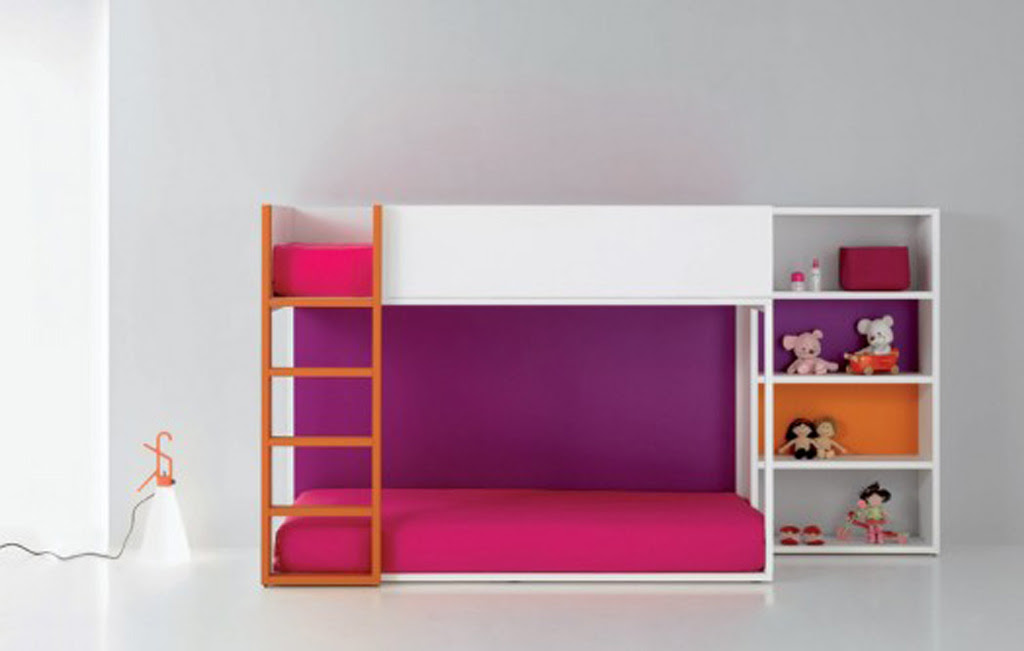 Modern Portable Bunk Bed Designs for Cool and Funky Kids Room ...