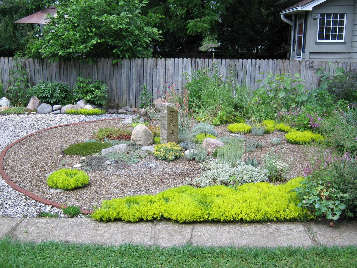 Gravel Garden Ideas Homsgarden
