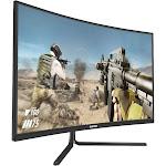 Viotek GNV32CBO 32-Inch 165Hz Gaming Monitor   144Hz FHD 4ms (OD)   G-Sync-Ready Fps/rts FreeSync   Wider FOV with Tight 1500R VA Panel   HDMI DP