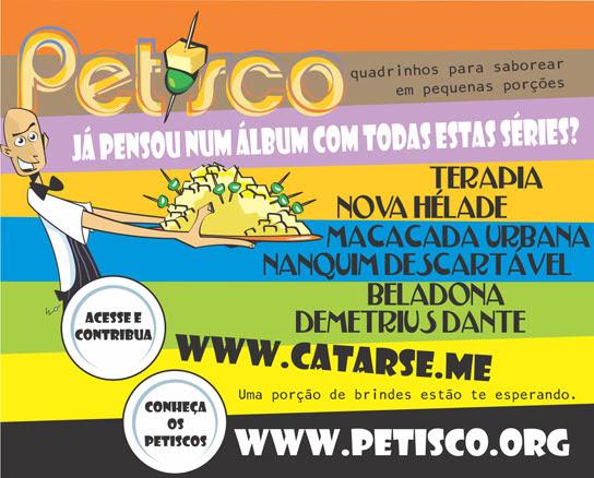 Ajude a Financiar o Álbum do Petisco!