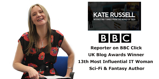 "BBC Click Reporter Kate Russell On ""Life Changing Technology"""