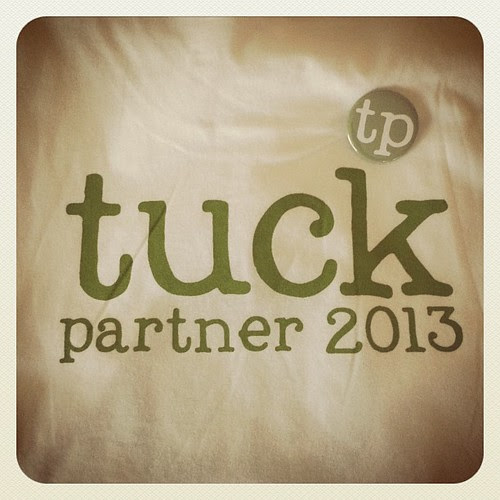 Picked up my TP shirt & button for #TuckASW2013 this weekend. Woot!