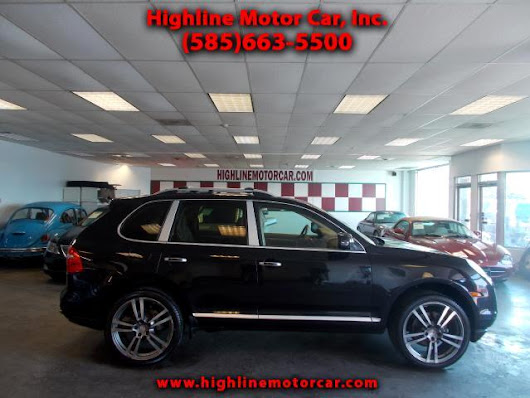 Used 2008 Porsche Cayenne for Sale in Rochester NY 14615 Highline Motor Car, Inc.
