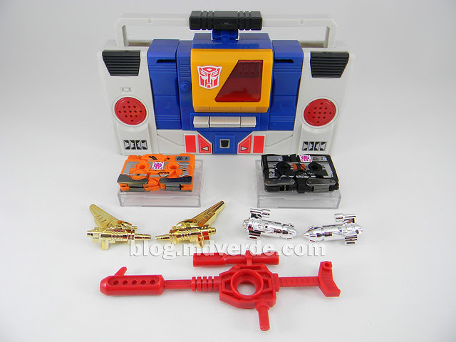 Transformers Twincast - G1 Encore - modo alterno vs Stripes vs Nightstalker