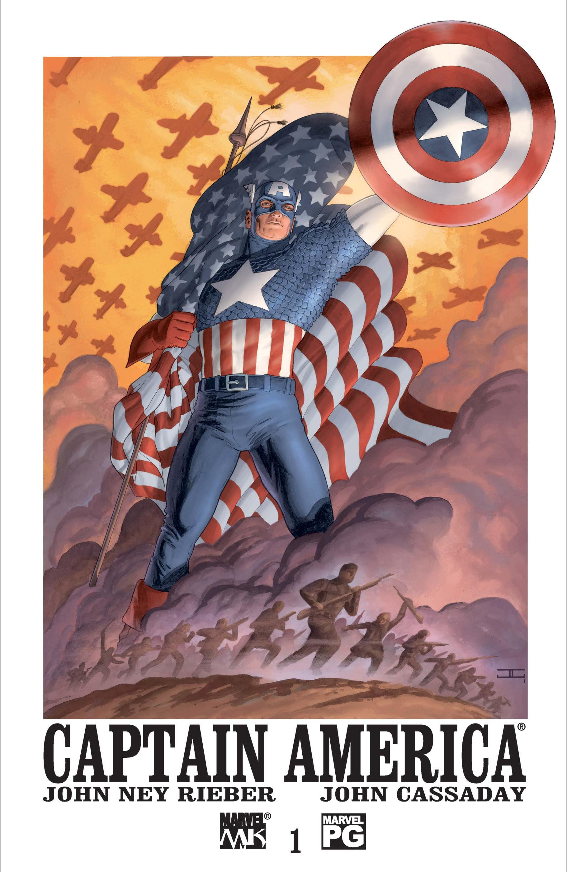 Resultado de imagem para capitão américa v4 # 01