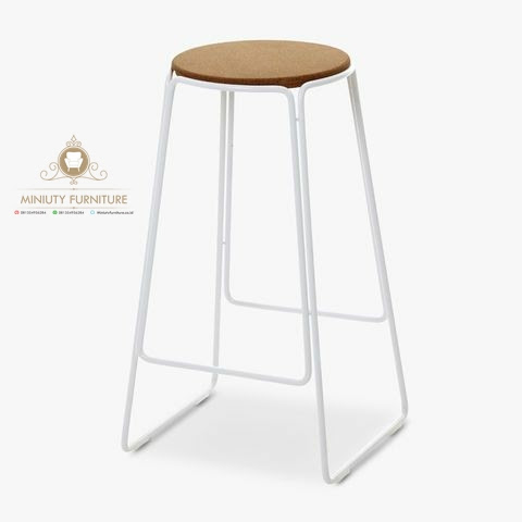 Kursi Cafe Kaki Besi Simple Terbaru Miniuty Furniture