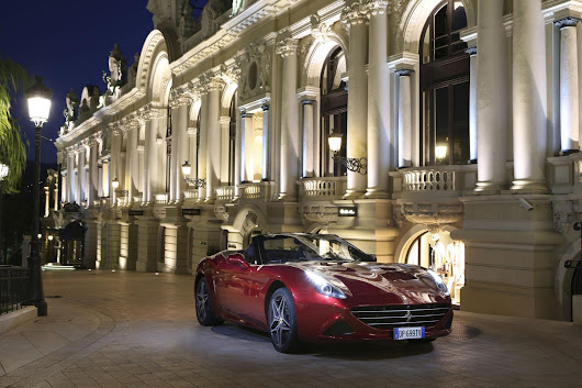 FERRARI CALIFORNIA T: AN EXHILARATING ROAD TRIP THROUGH THE PRINCIPALITY OF MONACO