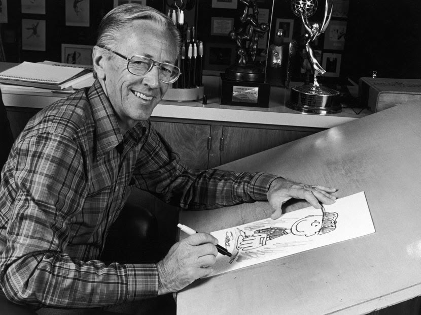 Charles M. Schulz in 1978. (CBS Photo Archive/Getty Images)