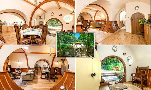 Lord of the Rings fans can live like a hobbit in a quirky holiday let