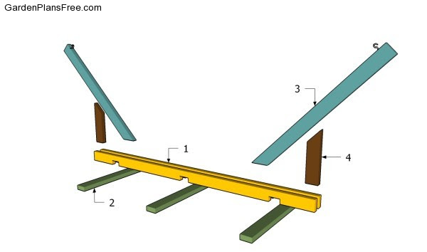 Woodguide Free Pvc Hammock Stand Plans