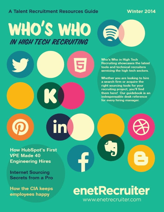 Who's Who in High Tech Recruiting Guidebook Winter 2014