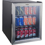 Whirlpool Mini Refrigerator Beverage Center - 2.7 cu ft -Stainless Steel