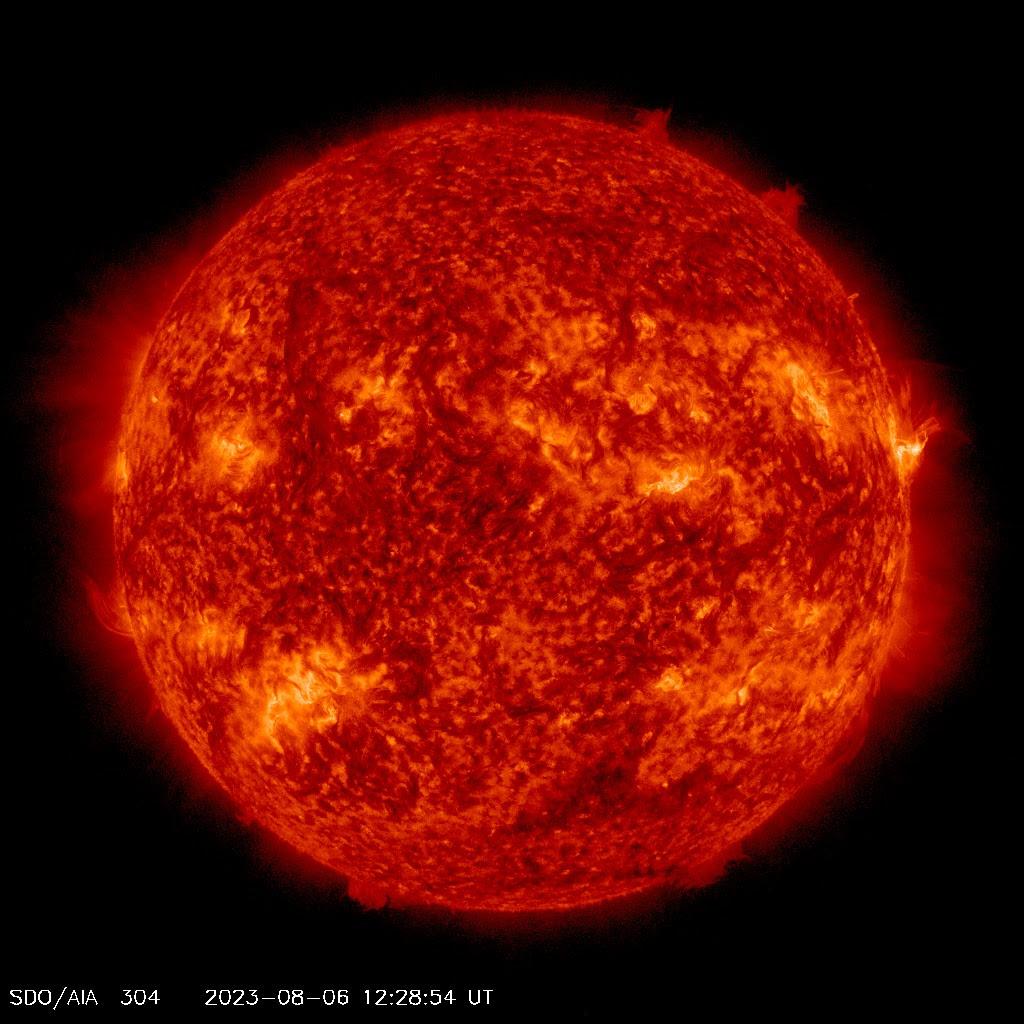 The Sun now